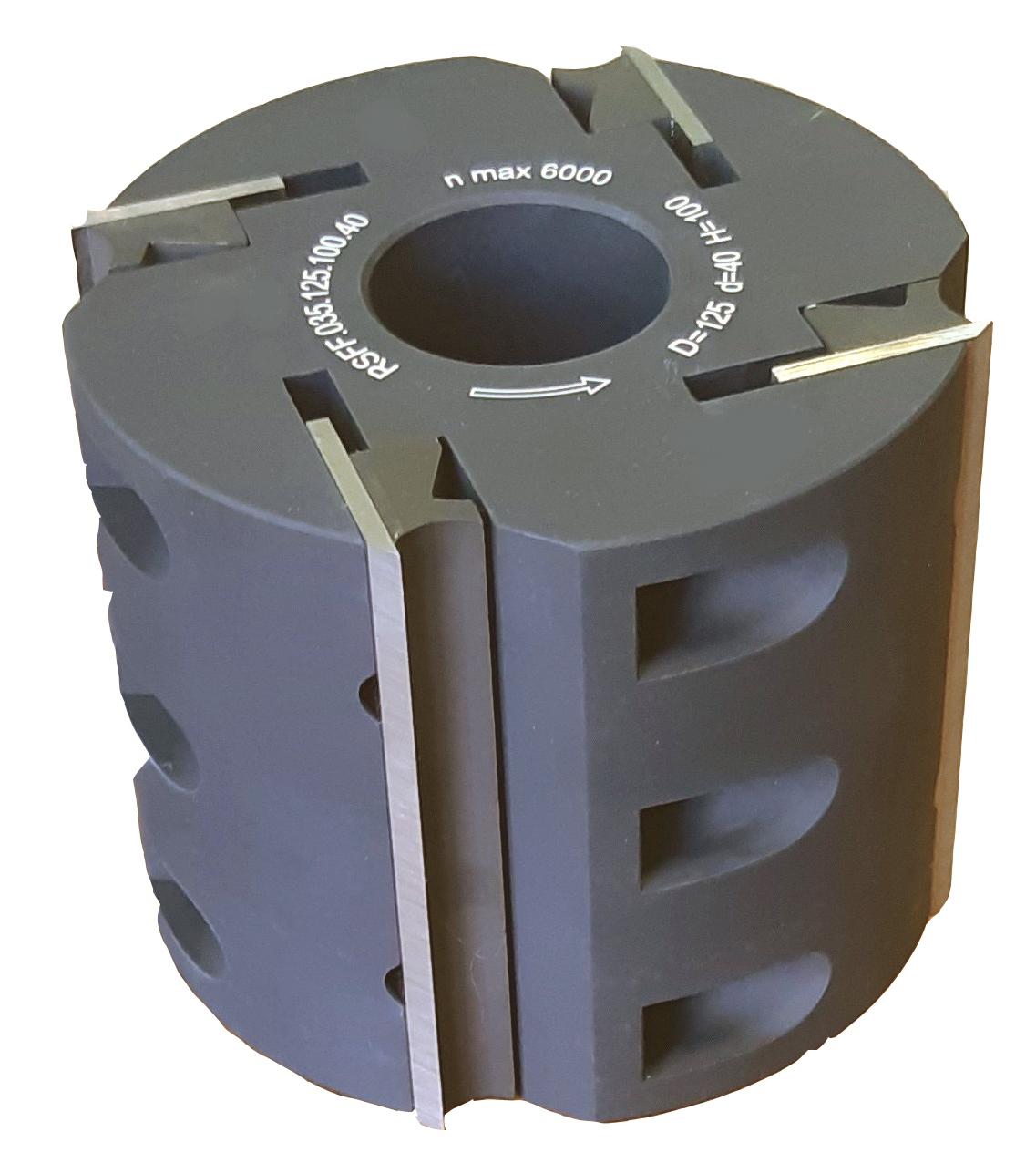 Легкосплавный строгальный барабан