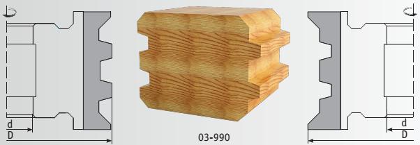 Брус 03-990 схема обработки