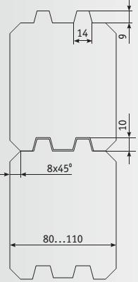 Брус 03-990 схема сборки