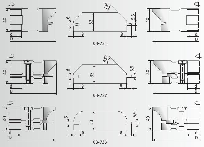 Имитация бруса, схема обработки