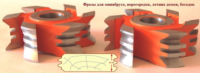 Фрезы для изготовления бочек, с баней-бочкой