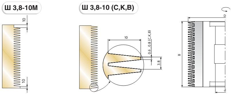 Ш 3,8-10 схема