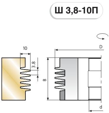 Ш 3,8-10П схема