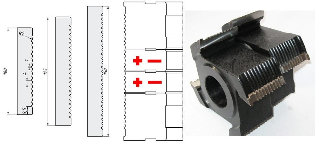 Модульная террасная доска, схем установки 2