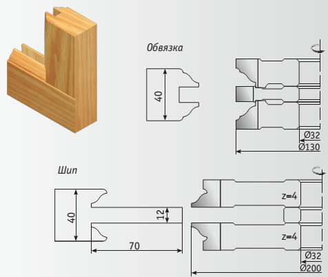 Дверной комплект, схемы 4